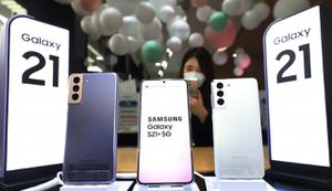 Samsung trở lại 'ngôi vương' smartphone toàn cầu