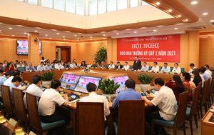 Chủ tịch UBND TP Chu Ngọc Anh: Hà Nội phấn đấu hoàn thành vượt kế hoạch các chỉ tiêu