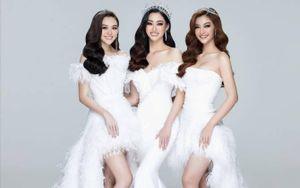 Top 3 Miss World Vietnam 2019 : Lương Thùy Linh ngày càng gợi cảm, Tường San kết hôn ở tuổi 20