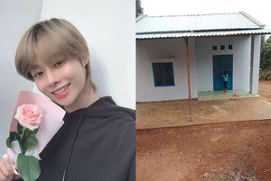 Lấy danh nghĩa Hanbin (Ngô Ngọc Hưng), fan tặng 'Ngôi nhà Hạnh Phúc'' cho trẻ mồ côi