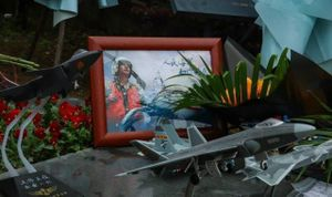 Trung Quốc tuyên bố tập trận trên biển Đông 'để tưởng nhớ cái chết của một phi công'