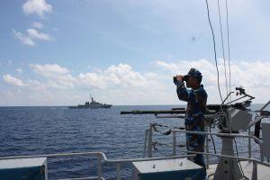 Biên đội tàu Vùng 5 Hải quân: Tự hào 'nhịp cầu nối' tình hữu nghị trên biển