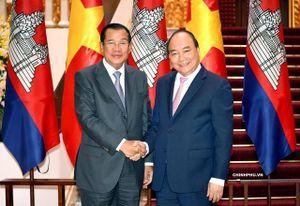 Thủ tướng Campuchia gửi thư chúc mừng Chủ tịch nước Nguyễn Xuân Phúc