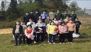Hà Giang: Đồn Biên phòng Xín Cái tiếp nhận 19 công dân do Trung Quốc trao trả