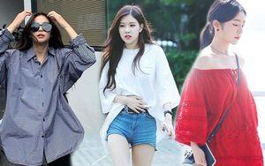 3 bí kíp diện đồ oversize không bị 'nuốt' dáng của sao Hàn
