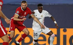 Liverpool nhận thất bại cay đắng trước Real Madrid