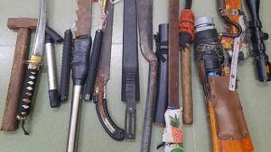 Băng nhóm 20 đối tượng dùng hung khí truy sát nhau ở Long An