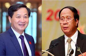 Ông Lê Minh Khái, Lê Văn Thành làm tân Phó Thủ tướng