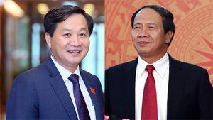 Đồng chí Lê Minh Khái và Lê Văn Thành giữ chức Phó Thủ tướng Chính phủ