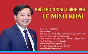 Chân dung tân Phó Thủ tướng Chính phủ Lê Minh Khái