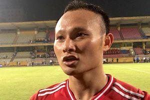 Trọng Hoàng chia sẻ sau bàn thắng đánh bại CLB Hà Nội