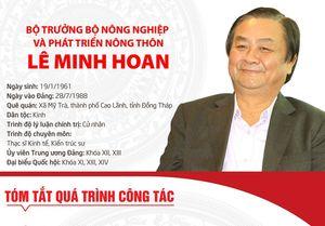 Tóm tắt quá trình công tác của tân Bộ trưởng Bộ Nông nghiệp và Phát triển nông thôn Lê Minh Hoan