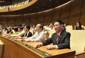 Quốc hội biểu quyết phê chuẩn Phó Chủ tịch và một số Ủy viên Hội đồng Quốc phòng và An ninh, Hội đồng bầu cử Quốc gia