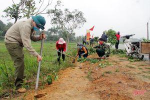 Hương Sơn tiếp tục lan tỏa khí thế xây dựng NTM trong 60 ngày tiếp theo