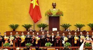 Bộ máy lãnh đạo sau khi được Quốc hội bầu, phê chuẩn có 28 thành viên