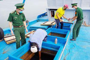 Bắt tàu chở 80 ngàn lít dầu D.O không rõ nguồn gốc