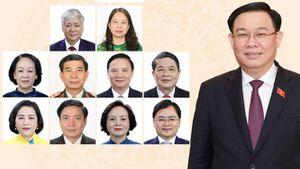 Danh sách Hội đồng Bầu cử quốc gia sau khi kiện toàn