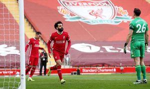 Liverpool ngược dòng thắng nghẹt thở Aston Villa