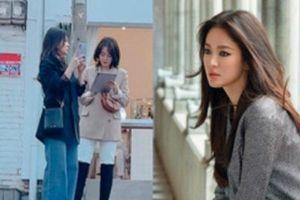 Song Hye Kyo bất ngờ bị người qua đường 'bóc phốt' nhan sắc thật với ảnh chụp vội, liệu còn xứng với danh xưng 'tường thành'?