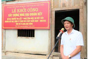Thép Miền Nam - VNSTEEL khởi công nhà đại đoàn kết cho hộ có hoàn cảnh khó khăn tại Hà Tĩnh