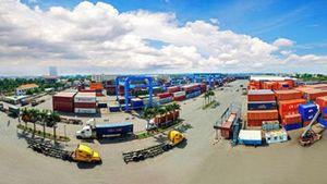 Hàng hóa qua các cảng biển đã vượt quy hoạch