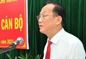 Huyện Bình Chánh có bí thư mới