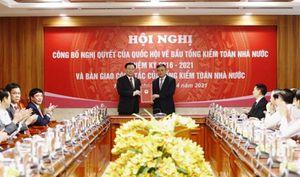 Hội nghị công bố Nghị quyết của Quốc hội về bầu Tổng Kiểm toán Nhà nước