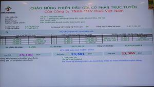 Công ty Muối Việt Nam IPO thành công với giá bình quân 23.501 đồng/cổ phần, cao hơn 10,33% so với giá khởi điểm