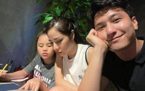 Huỳnh Anh thân thiết với con gái riêng của vợ hơn tuổi Lan Phương khiến fan ấm lòng