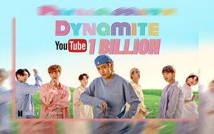 'Dynamite' (BTS) trở thành MV bởi nhóm nhạc Kpop đạt 1 tỷ view nhanh nhất Youtube