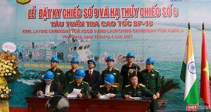 Ấn Độ bàn giao tàu tuần tra cao tốc cho Bộ đội Biên phòng Việt Nam