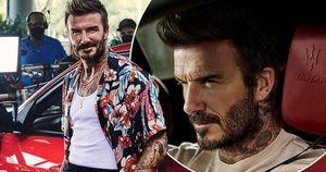 Huyền thoại bóng đá David Beckham làm đại sứ thương hiệu của Maserati