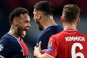 Neymar mỉa mai Kimmich sau khi vào bán kết