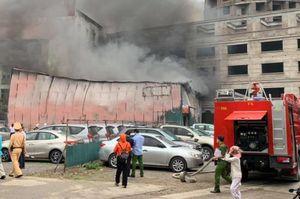 Thông tin chính thức vụ cháy trên phố Định Công