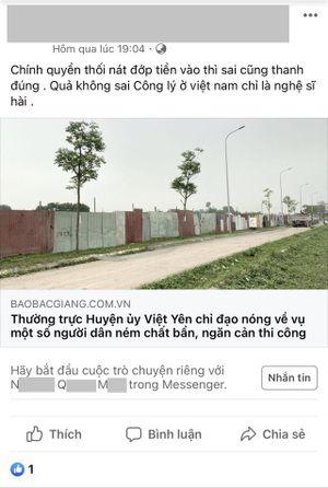 Bắc Giang: Nam thanh niên bị phạt 7,5 triệu đồng sau khi đăng tải: 'Công lý ở Việt Nam chỉ là nghệ sĩ hài'