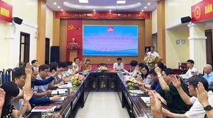 Huyện Sóc Sơn chốt danh sách nhân sự giới thiệu ứng cử đại biểu HĐND nhiệm kỳ 2021 - 2026