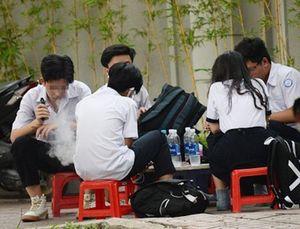 Học sinh bị đầu độc bằng thuốc lá điện tử có trộn ma túy