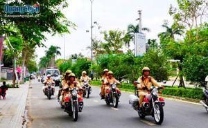 Ra quân đảm bảo TTATGT và TTXH bảo vệ bầu cử