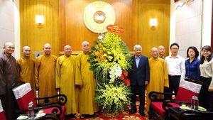 Trung ương Giáo hội chúc mừng ông Đỗ Văn Chiến, Chủ tịch Ủy ban TƯMTTQVN