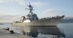 Mỹ hoãn kế hoạch gửi tàu chiến đến Biển Đen