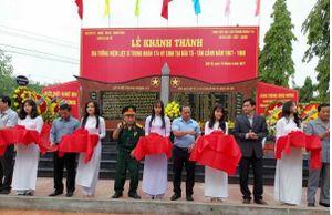 Kon Tum: Khánh thành Bia tưởng niệm các liệt sĩ Trung đoàn 174