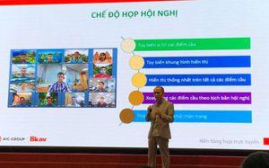 Ra mắt nền tảng họp trực tuyến Make in Viet Nam eMeeting