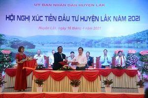 Huyện Lắk tổ chức Hội nghị xúc tiến đầu tư năm 2021
