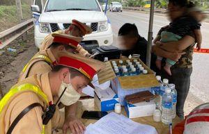 8.700 trường hợp vi phạm trong ngày đầu cao điểm đảm bảo TTATGT