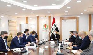 Bộ trưởng Dầu mỏ Iraq làm việc với phái đoàn Lukoil của Nga