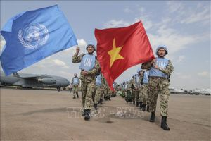Việt Nam đóng góp tích cực vào duy trì nền hòa bình bền vững trên thế giới