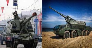 Pháo tự hành Msta-S Nga vượt trội như thế nào so với Dana-M2 của Ukraine?