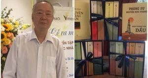 Nhà văn Nguyễn Như Phong 'chơi lớn' với tuyển tập sách của ba thế hệ