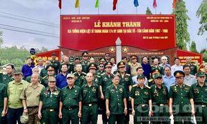 Khánh thành Bia tưởng niệm các Liệt sỹ Trung đoàn 174 tại Kon Tum