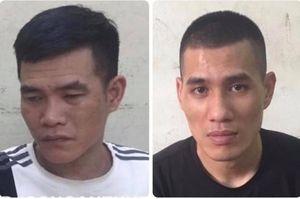 Hai gã 'nghiện' dùng cuốc đập kính xe ô tô trộm tài sản